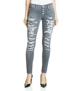 Hudson | Ciara Distressed Skinny Jeans In