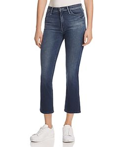 Mother   The Insider Crop Jeans In