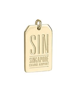 Jet Set Candy | Sin Singapore Luggage Tag Charm
