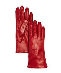Bloomingdale's | Cashmere-Lined Leather Gloves 100 Exclusive