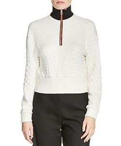 Maje | Tolly Textured Zip Sweater