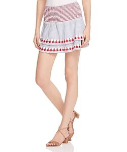 Piper | Smocked Embroidered Skirt 100 Exclusive