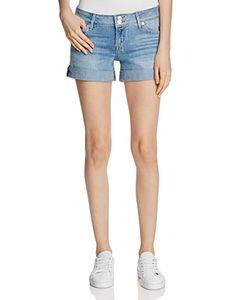 Hudson | Croxley Denim Shorts In Light Wash