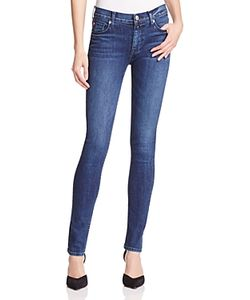 Hudson | Mid Rise Slim Straight Jeans In