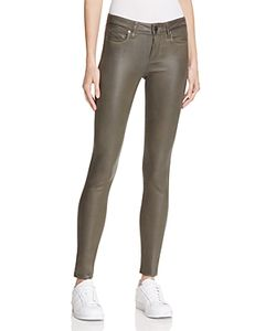 Paige | Verdugo Ultra Skinny Coated Jeans In