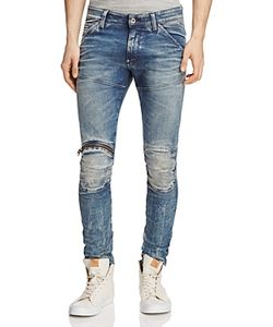 G-Star Raw | 5620 3d Distressed Super Slim Jeans In