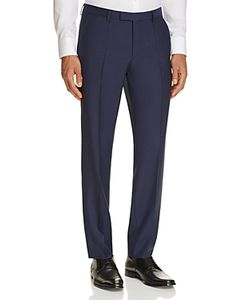 Boss Hugo Boss   Solid Regular Fit Trousers 100 Exclusive