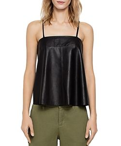 Zadig & Voltaire | Cali Deluxe Leather Camisole Top