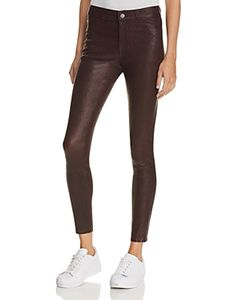 Paige | Verdugo Ankle Leather Pants In