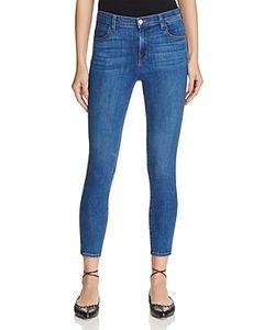 J Brand   Alana High Rise Crop Jeans In