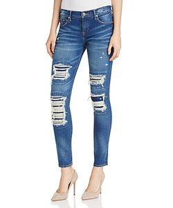 True Religion | Halle Distressed Super Skinny Jeans