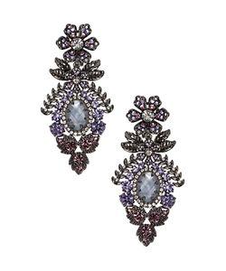 Marchesa | Drama Chandelier Drop Earrings