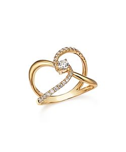 Bloomingdale's | Diamond Crossover Ring In 14k .50 Ct. T.W.