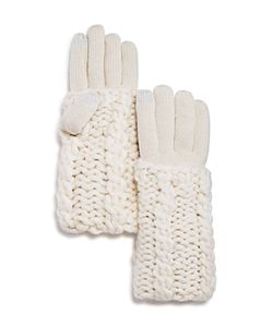 Rebecca Minkoff | Cable Knit Tech Gloves