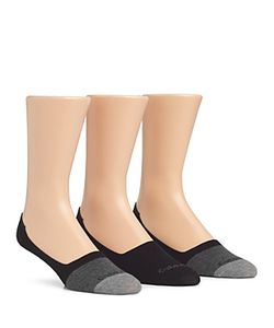 Calvin Klein | Color Block No Show Socks Pack Of 3