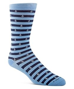 Cole Haan | Anchor Stripe Crew Socks
