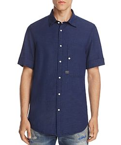 G-Star Raw | Stalt Denim Regular Fit Button-Down Shirt