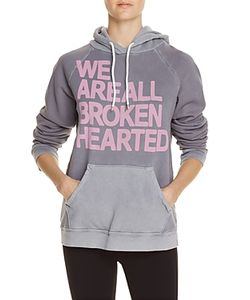 Free City   Broken Hearted Hoodie Sweatshirt