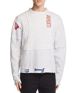 Longjourney | Nash Deconstructed Graphic Sweatshirt