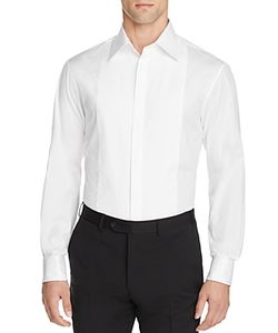 Armani Collezioni | Armani Classic Fit Tuxedo Shirt With French Cuffs