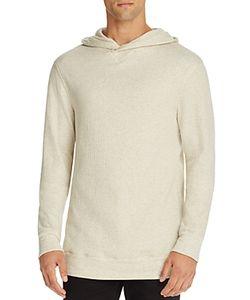 Helmut Lang | Textured Fleece Pullover Hoodie