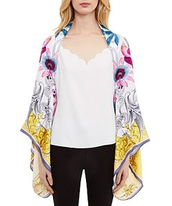 Ted Baker | Passion Flower Cape Scarf