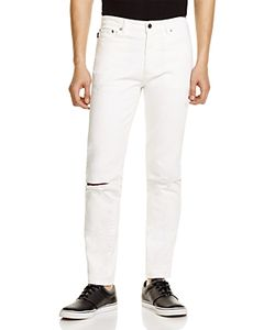 Ovadia & Sons | Distressed Slim Fit Jeans In