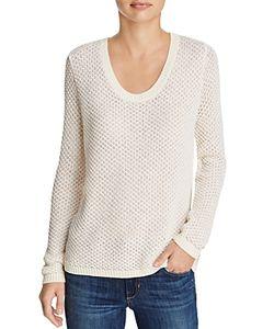 H. One | Open Stitch Sweater