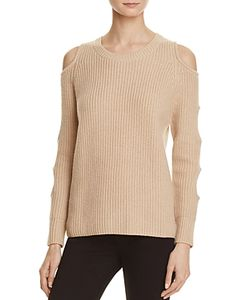 Zoe Jordan | Galileo Cold Shoulder Sweater