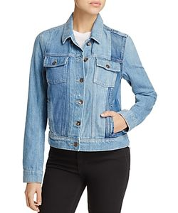Paige   Pieced Rowan Denim Jacket
