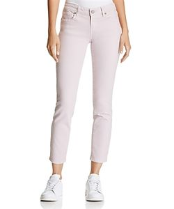 Paige | Kylie Cropped Skinny Jeans In 100 Exclusive