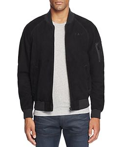 G-Star Raw | Suede Bomber Jacket