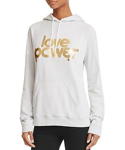 Free City   Love Power Pullover Hoodie 100 Exclusive