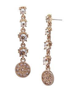 Marchesa | Linear Drop Earrings