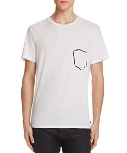 7 For All Mankind | Painted Pocket Graphic Tee