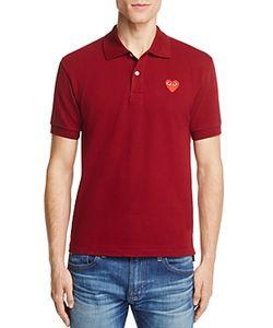 Comme Des Garçons Play   Comme Des Garcons Play Pique Slim Fit Polo Shirt