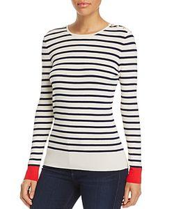 Tory Burch | Birdie Stripe Sweater