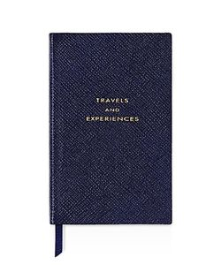 Smythson | Travel And Experiences Notebook
