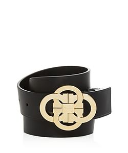 Salvatore Ferragamo | Calfskin Belt With Quad Interlocking Gancini Buckle