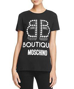 Boutique Moschino | Logo Graphic Tee