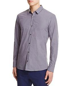 Hugo   Gingham Slim Fit Button-Down Shirt