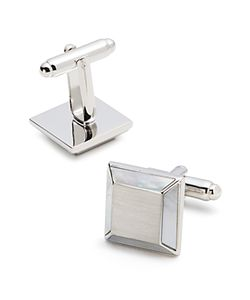 The Men's Store At Bloomingdale's | Brushed Square Cufflinks