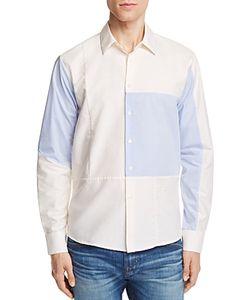 Soulland | Jiang Patchwork Slim Fit Button-Down Shirt