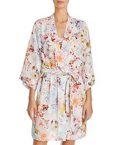 Flora Nikrooz | Miranda Crepe Printed Wrap Robe