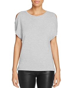 Majestic Filatures | Cold Shoulder Tee