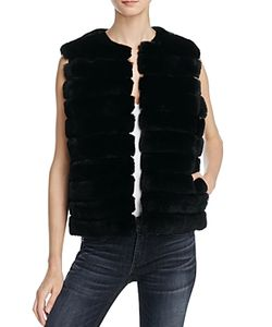 Meteo By Yves Salomon | Cropped Fur Vest