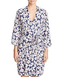 Oscar de la Renta Pink Label | Print Wrap Robe