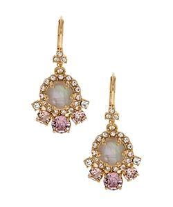 Marchesa | Stone Drop Earrings