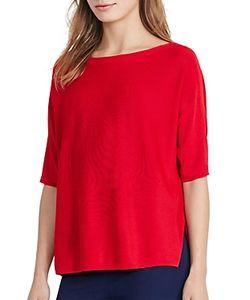 Ralph Lauren | Lauren Boat Neck Elbow Sleeve Sweater
