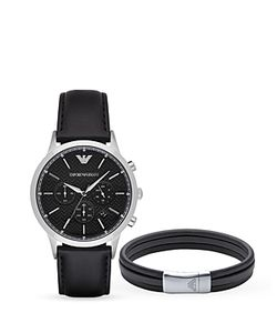 Emporio Armani | Renato Watch 43mm Bracelet Set
